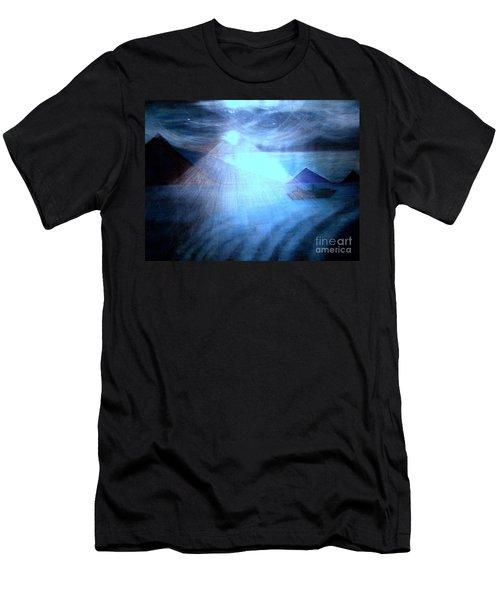 Blue Moon Sailing Men's T-Shirt (Athletic Fit)