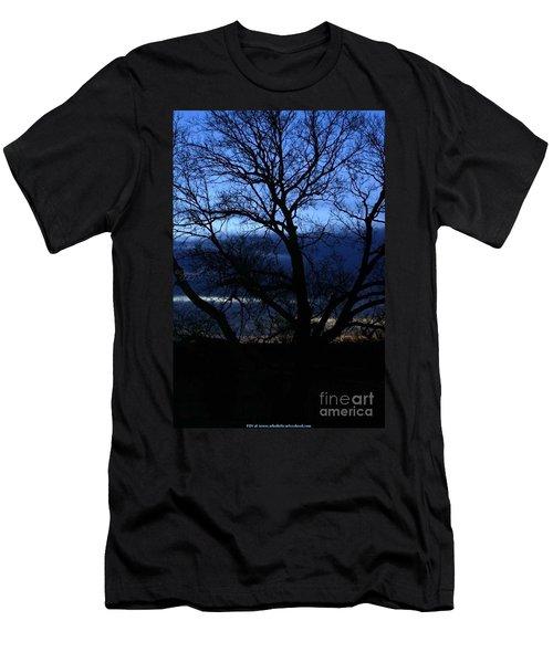 Blue Moon Sunrise Men's T-Shirt (Athletic Fit)