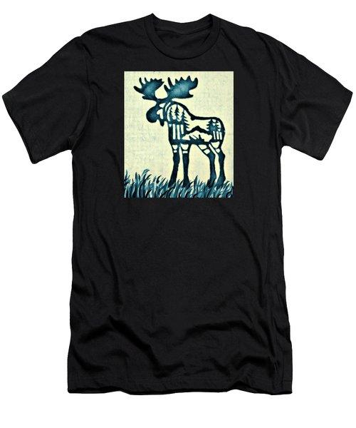 Blue Moose Men's T-Shirt (Athletic Fit)