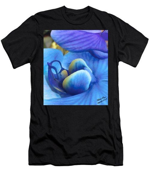 Blue Oasis 2  Men's T-Shirt (Athletic Fit)