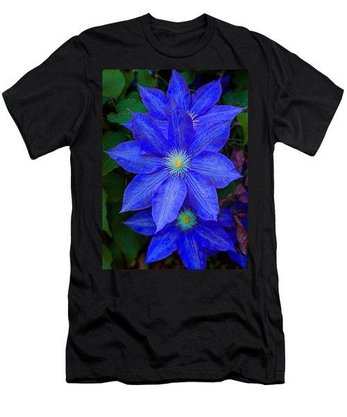 Blue On Blue Men's T-Shirt (Athletic Fit)