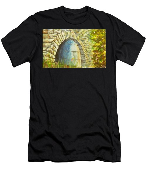 Blue Ridge Tunnel Men's T-Shirt (Athletic Fit)