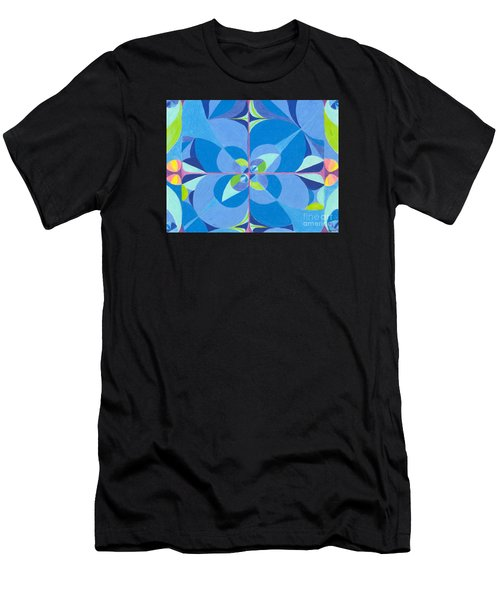 Blue Unity Men's T-Shirt (Athletic Fit)