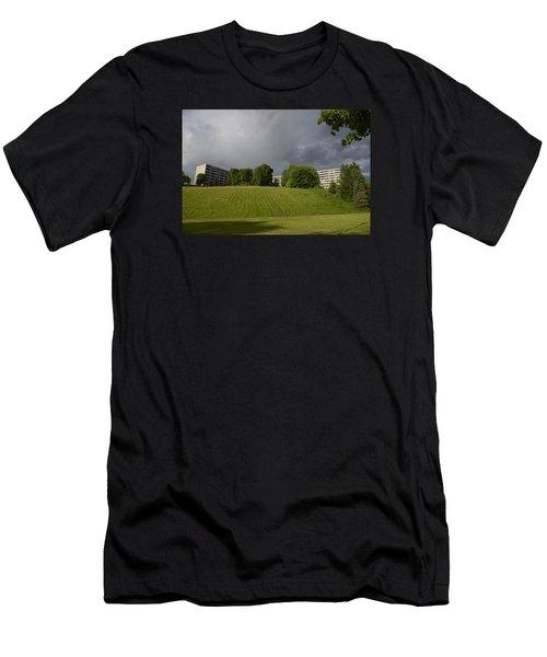 Blue Visions 3 Men's T-Shirt (Athletic Fit)