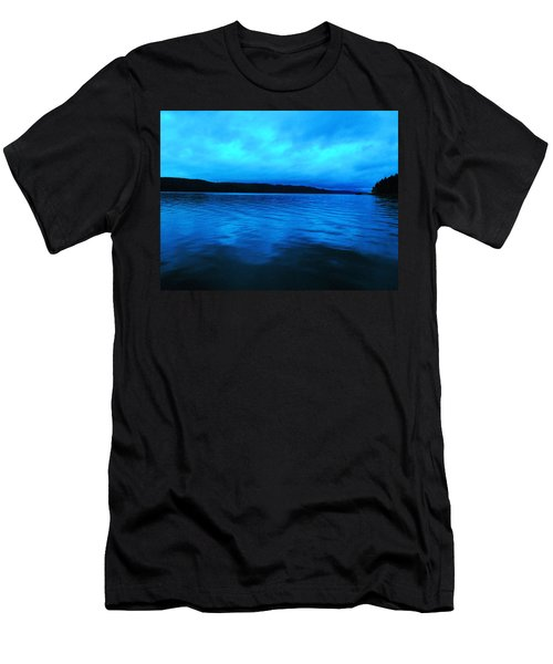 Blue Water In The Morn  Men's T-Shirt (Athletic Fit)