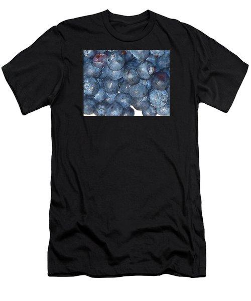 Blueberries Men's T-Shirt (Athletic Fit)