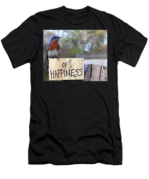 Bluebird Of Happiness Men's T-Shirt (Athletic Fit)
