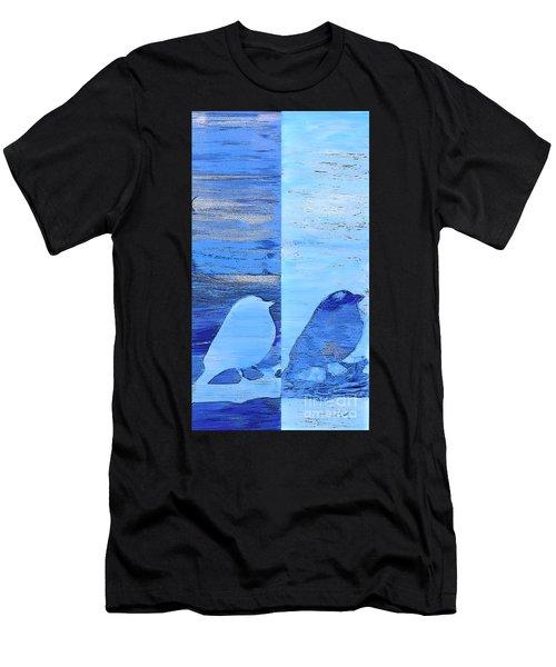 Bluebirds Men's T-Shirt (Athletic Fit)