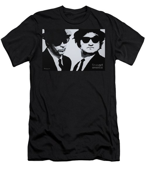 Blues Brothers Men's T-Shirt (Athletic Fit)