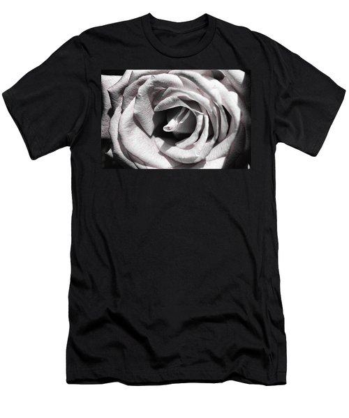 Blushing Rose Men's T-Shirt (Athletic Fit)