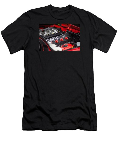 Bmw M Power Men's T-Shirt (Slim Fit) by Mike Reid