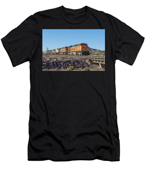 Bnsf 7649 Men's T-Shirt (Athletic Fit)