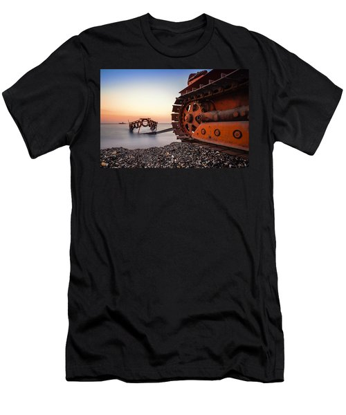 Boat Tractor Men's T-Shirt (Athletic Fit)