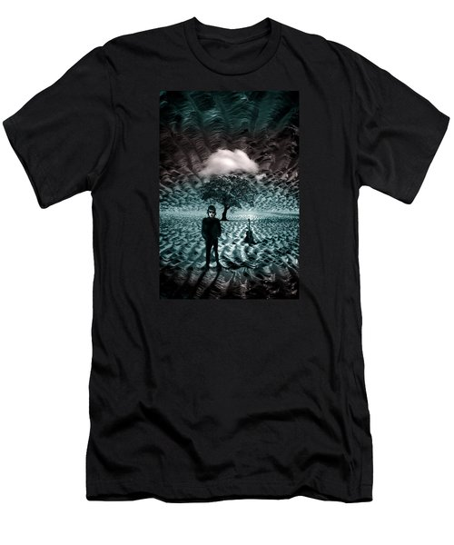 Bob Dylan A Hard Rain's A-gonna Fall Men's T-Shirt (Athletic Fit)