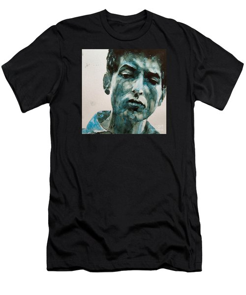 Bob Dylan Men's T-Shirt (Athletic Fit)