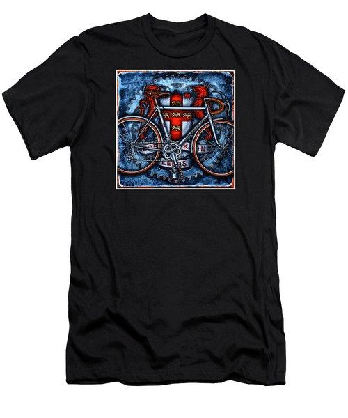 Bob Jackson Men's T-Shirt (Slim Fit) by Mark Jones