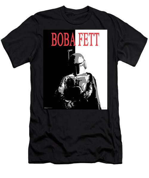 Boba Fett- Gangster Men's T-Shirt (Athletic Fit)