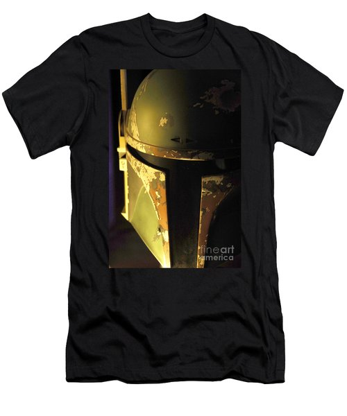Boba Fett Helmet 124 Men's T-Shirt (Slim Fit) by Micah May