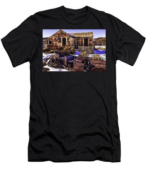 Men's T-Shirt (Slim Fit) featuring the painting Bodie by Muhie Kanawati