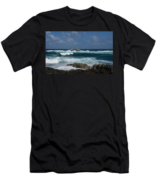 Boiling The Ocean At Laie Point - North Shore - Oahu - Hawaii Men's T-Shirt (Athletic Fit)