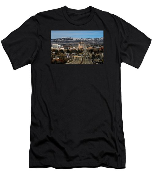 Boise Idaho Men's T-Shirt (Athletic Fit)