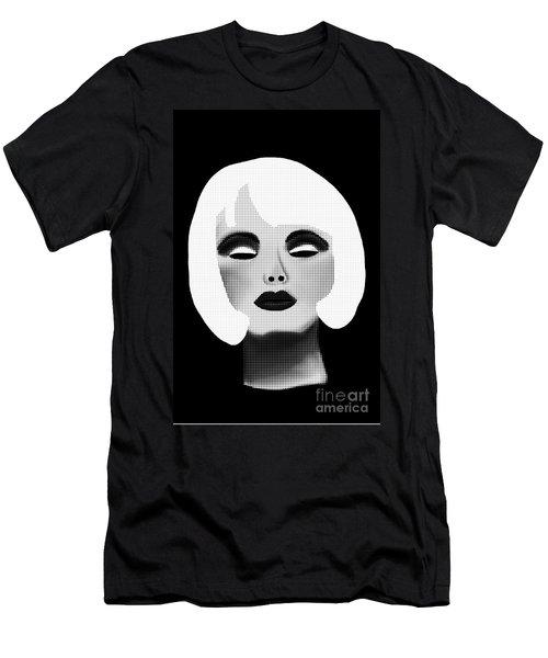 Bold Blonde Beauty Men's T-Shirt (Athletic Fit)