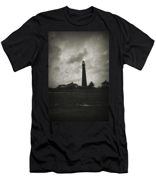 Bolivar Lighthouse Men's T-Shirt (Athletic Fit)