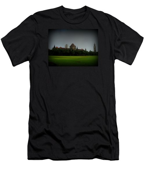 Men's T-Shirt (Slim Fit) featuring the photograph Bombay High Court by Salman Ravish