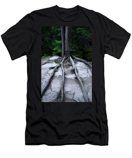 Men's T-Shirt (Slim Fit) featuring the photograph Bones by David Andersen