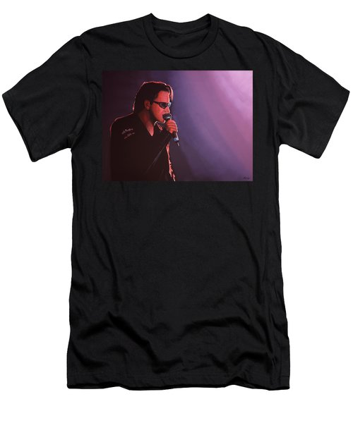 Bono U2 Men's T-Shirt (Slim Fit) by Paul Meijering