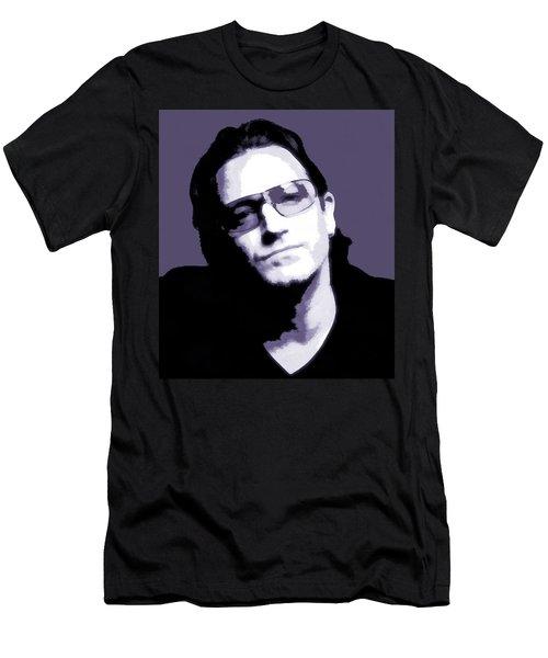 Bono Portrait Men's T-Shirt (Slim Fit) by Dan Sproul