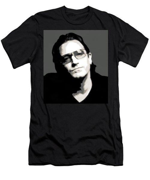 Bono Poster Men's T-Shirt (Slim Fit) by Dan Sproul