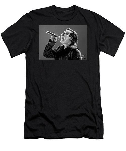 Bono U2 Men's T-Shirt (Slim Fit) by Meijering Manupix