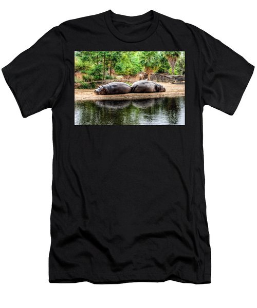 Book Ends Men's T-Shirt (Slim Fit) by Ray Warren