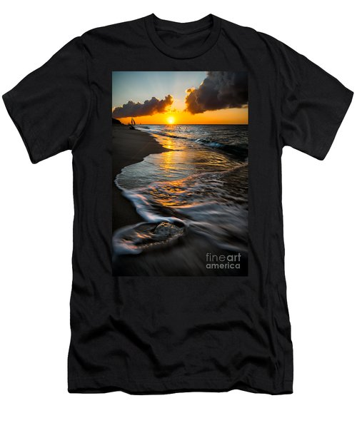 Boracay Sunset Men's T-Shirt (Slim Fit) by Adrian Evans