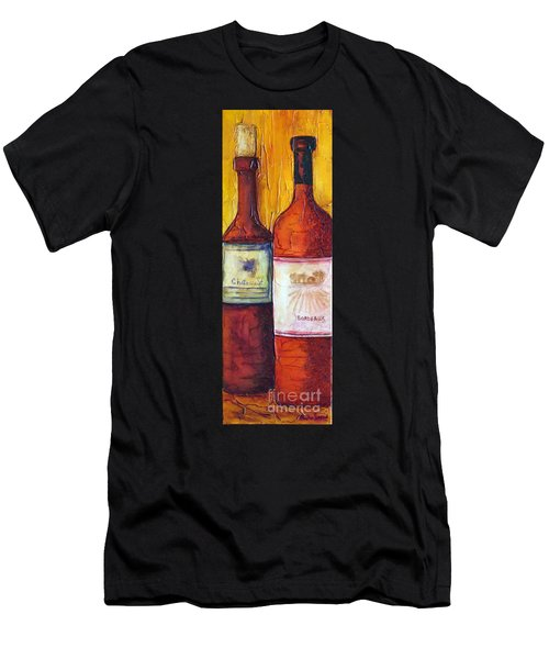Bordeaux Vino Men's T-Shirt (Athletic Fit)