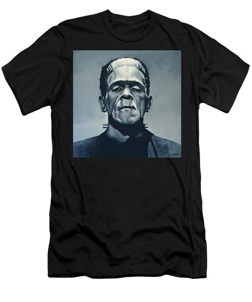 Boris Karloff As Frankenstein  Men's T-Shirt (Athletic Fit)