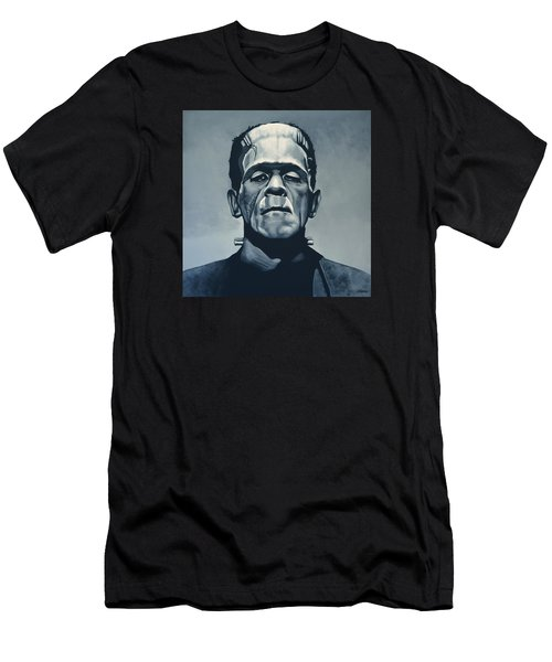 Boris Karloff As Frankenstein  Men's T-Shirt (Athletic Fit)