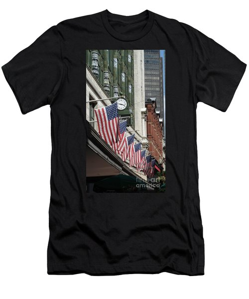 Boston 4th Of July Men's T-Shirt (Athletic Fit)