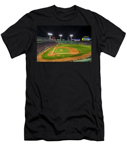 Boston Red Sox And New York Yankees At Fenway Park - Art Men's T-Shirt (Athletic Fit)