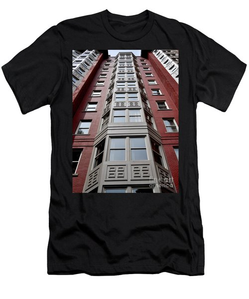 Boston Skyscraper Men's T-Shirt (Athletic Fit)