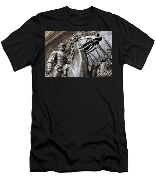 Robert Gould Shaw Memorial Men's T-Shirt (Athletic Fit)