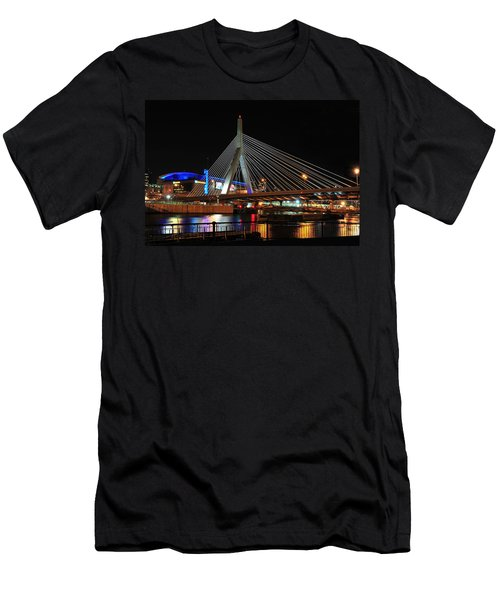 Boston's Zakim-bunker Hill Bridge Men's T-Shirt (Athletic Fit)
