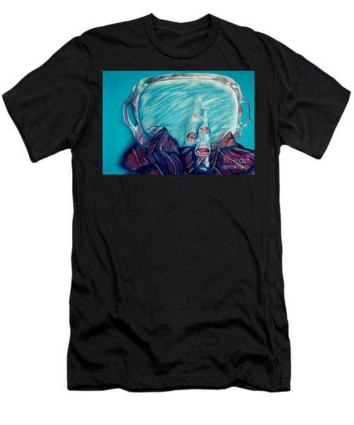 Bottle Reflection Men's T-Shirt (Athletic Fit)