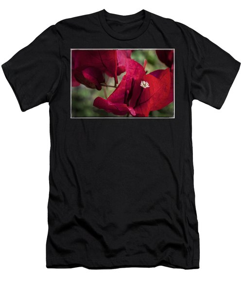 Men's T-Shirt (Athletic Fit) featuring the photograph Bougainvillea by Steven Sparks