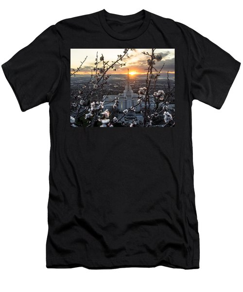 Bountiful Spring Men's T-Shirt (Athletic Fit)