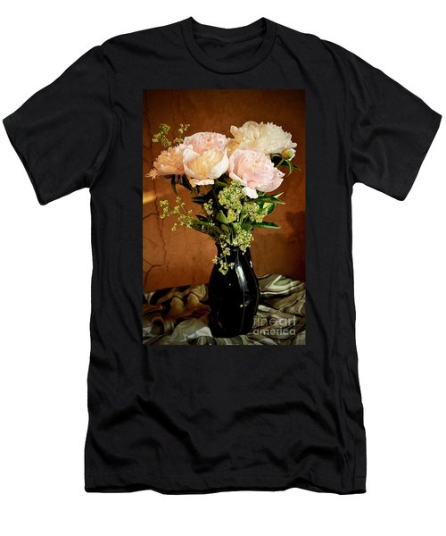 Bouquet Of Peonies Men's T-Shirt (Athletic Fit)