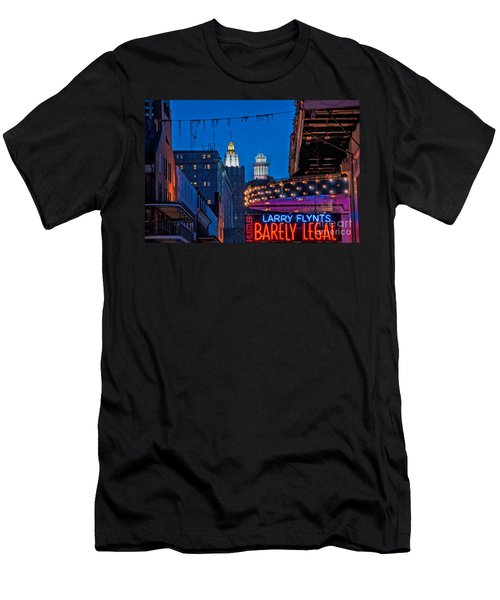 Bourbon Street And Cbd Lights  Men's T-Shirt (Athletic Fit)