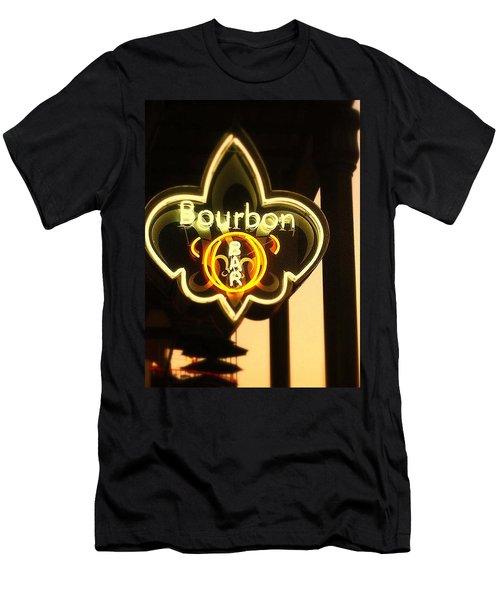 Bourbon Street Bar New Orleans Men's T-Shirt (Athletic Fit)