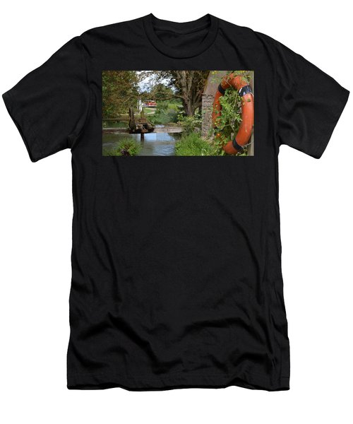 Bouy By Canal Men's T-Shirt (Athletic Fit)